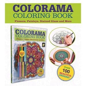 COLORAMA Colouring Book with Pencil Set